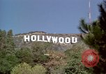 Image of Hollywood sign Hollywood Los Angeles California USA, 1976, second 27 stock footage video 65675033261