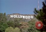 Image of Hollywood sign Hollywood Los Angeles California USA, 1976, second 29 stock footage video 65675033261