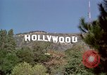 Image of Hollywood sign Hollywood Los Angeles California USA, 1976, second 30 stock footage video 65675033261