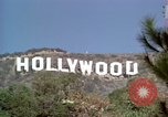 Image of Hollywood sign Hollywood Los Angeles California USA, 1976, second 40 stock footage video 65675033261