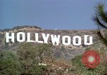 Image of Hollywood sign Hollywood Los Angeles California USA, 1976, second 41 stock footage video 65675033261