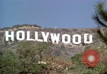 Image of Hollywood sign Hollywood Los Angeles California USA, 1976, second 43 stock footage video 65675033261