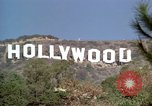 Image of Hollywood sign Hollywood Los Angeles California USA, 1976, second 44 stock footage video 65675033261