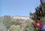 Image of Hollywood sign Hollywood Los Angeles California USA, 1976, second 1 stock footage video 65675033262