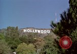 Image of Hollywood sign Hollywood Los Angeles California USA, 1976, second 3 stock footage video 65675033262
