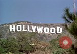 Image of Hollywood sign Hollywood Los Angeles California USA, 1976, second 11 stock footage video 65675033262