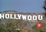Image of Hollywood sign Hollywood Los Angeles California USA, 1976, second 13 stock footage video 65675033262