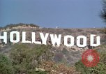 Image of Hollywood sign Hollywood Los Angeles California USA, 1976, second 14 stock footage video 65675033262