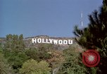 Image of Hollywood sign Hollywood Los Angeles California USA, 1976, second 18 stock footage video 65675033262