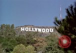 Image of Hollywood sign Hollywood Los Angeles California USA, 1976, second 22 stock footage video 65675033262