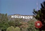 Image of Hollywood sign Hollywood Los Angeles California USA, 1976, second 23 stock footage video 65675033262