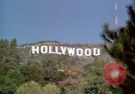 Image of Hollywood sign Hollywood Los Angeles California USA, 1976, second 24 stock footage video 65675033262