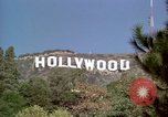 Image of Hollywood sign Hollywood Los Angeles California USA, 1976, second 25 stock footage video 65675033262