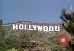 Image of Hollywood sign Hollywood Los Angeles California USA, 1976, second 26 stock footage video 65675033262