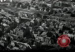 Image of aerial views of damage from WW2 Berlin Germany, 1947, second 1 stock footage video 65675033264
