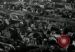 Image of aerial views of damage from WW2 Berlin Germany, 1947, second 2 stock footage video 65675033264