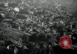 Image of aerial views of damage from WW2 Berlin Germany, 1947, second 7 stock footage video 65675033264