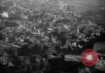 Image of aerial views of damage from WW2 Berlin Germany, 1947, second 8 stock footage video 65675033264