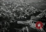 Image of aerial views of damage from WW2 Berlin Germany, 1947, second 9 stock footage video 65675033264