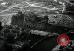 Image of aerial views of damage from WW2 Berlin Germany, 1947, second 20 stock footage video 65675033264