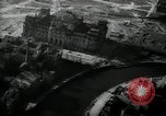 Image of aerial views of damage from WW2 Berlin Germany, 1947, second 21 stock footage video 65675033264