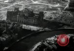 Image of aerial views of damage from WW2 Berlin Germany, 1947, second 22 stock footage video 65675033264