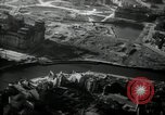 Image of aerial views of damage from WW2 Berlin Germany, 1947, second 24 stock footage video 65675033264