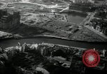 Image of aerial views of damage from WW2 Berlin Germany, 1947, second 25 stock footage video 65675033264