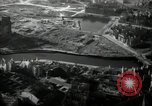Image of aerial views of damage from WW2 Berlin Germany, 1947, second 26 stock footage video 65675033264
