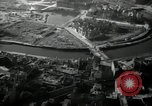 Image of aerial views of damage from WW2 Berlin Germany, 1947, second 28 stock footage video 65675033264