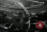 Image of aerial views of damage from WW2 Berlin Germany, 1947, second 29 stock footage video 65675033264