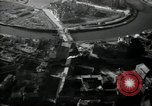 Image of aerial views of damage from WW2 Berlin Germany, 1947, second 30 stock footage video 65675033264