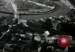 Image of aerial views of damage from WW2 Berlin Germany, 1947, second 32 stock footage video 65675033264