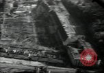 Image of aerial views of damage from WW2 Berlin Germany, 1947, second 33 stock footage video 65675033264