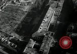 Image of aerial views of damage from WW2 Berlin Germany, 1947, second 37 stock footage video 65675033264