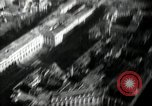 Image of aerial views of damage from WW2 Berlin Germany, 1947, second 42 stock footage video 65675033264