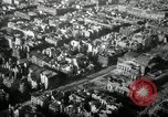 Image of aerial views of damage from WW2 Berlin Germany, 1947, second 48 stock footage video 65675033264