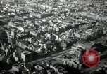 Image of aerial views of damage from WW2 Berlin Germany, 1947, second 49 stock footage video 65675033264