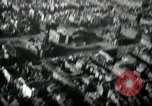 Image of aerial views of damage from WW2 Berlin Germany, 1947, second 52 stock footage video 65675033264