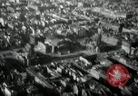 Image of aerial views of damage from WW2 Berlin Germany, 1947, second 53 stock footage video 65675033264