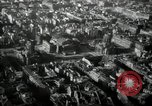 Image of aerial views of damage from WW2 Berlin Germany, 1947, second 54 stock footage video 65675033264