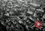 Image of aerial views of damage from WW2 Berlin Germany, 1947, second 55 stock footage video 65675033264