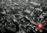 Image of aerial views of damage from WW2 Berlin Germany, 1947, second 56 stock footage video 65675033264