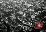 Image of aerial views of damage from WW2 Berlin Germany, 1947, second 57 stock footage video 65675033264