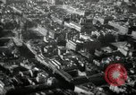 Image of aerial views of damage from WW2 Berlin Germany, 1947, second 58 stock footage video 65675033264