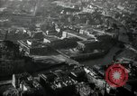 Image of aerial views of damage from WW2 Berlin Germany, 1947, second 60 stock footage video 65675033264