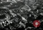Image of aerial views of damage from WW2 Berlin Germany, 1947, second 62 stock footage video 65675033264