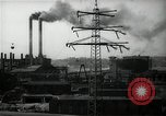 Image of industrial area Germany, 1946, second 56 stock footage video 65675033271