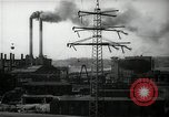 Image of industrial area Germany, 1946, second 57 stock footage video 65675033271