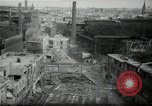 Image of industrial area Germany, 1946, second 52 stock footage video 65675033273